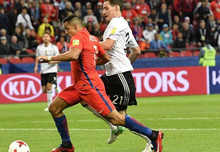 Los alemanes no pudieron anotar el segundo a pesar de sus insistencias. (Foto: Contexto/Internet)