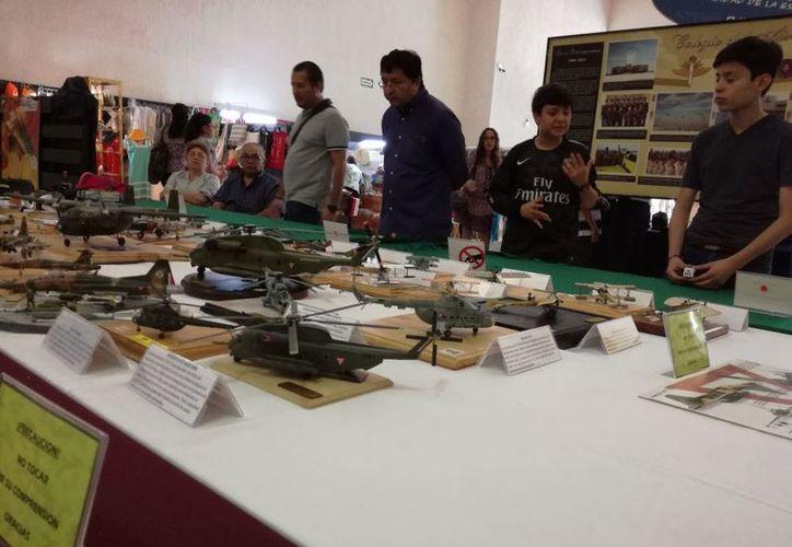 La exposición estará presente durante toda la Feria de la Lectura Yucatán. (Milenio Novedades)