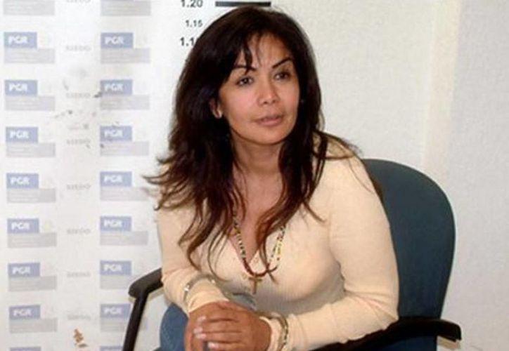 El sobrebombre de Sandra Ávila Beltrán, 'La Reina del Pacífico', es uno de los que fueron autorizados para ser registrado como marca. (Archivo/Agencias)