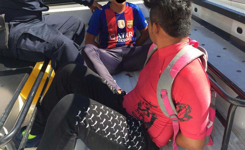 Por el pleito, cinco alumnos de la escuela Eva Sámano de López  resultaron detenidos. (Foto: Redacción/SIPSE)