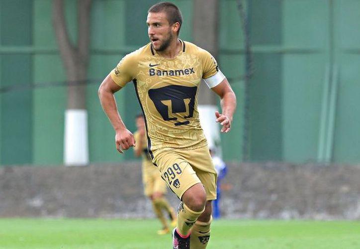 En el juego entre Veracruz y Pumas, se dio el debut de Andrés Iniestra, juvenil de la UNAM. (Vanguardia MX)