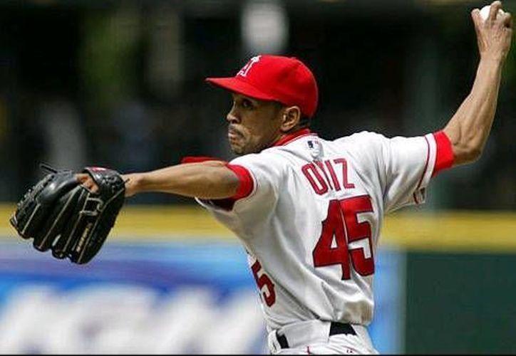 Ramón Ortiz es lanzador derecho, oriundo de Cutui, República Dominicana. (Redacción/SIPSE)