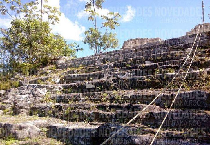 Realizarán trabajos en la zona arqueológica de Ichkabal. (Joel Zamora/SIPSE)