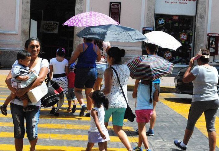 Las lluvias y altas temperaturas continuarán en Yucatán, de acuerdo a un pronóstico del  Centro Hidrometeorológico Regional de Mérida. (SIPSE)