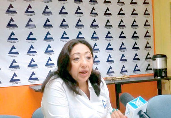 Ligia Sierra Aguilar, presidenta de la Canaco, reprobó que la comuna sugiera que no se pague la cuota del Sistema de Información Empresarial Mexicano, en perjuicio del comercio organizado.