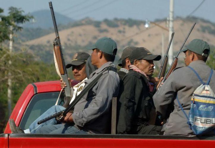 El 3 de diciembre habitantes de Olinalá, Guerrero, conformaron la Policía Ciudadana y Popular, ante la creciente ola de violencia. (Archivo/Notimex)