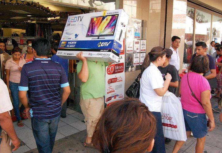 Las pantallas son uno de los productos más demandados. (Milenio Novedades)