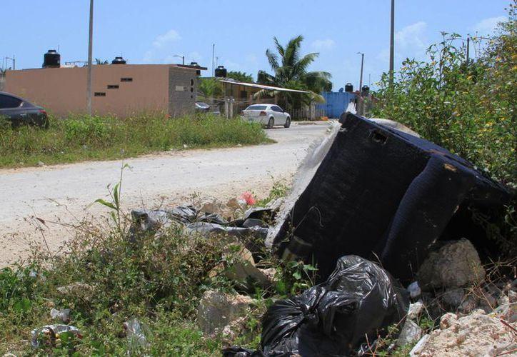 Donde se han reportado algunos puntos críticos es el Fraccionamiento Caribe y Las Américas. (Ángel Castilla/SIPSE)