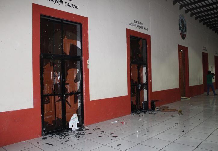 Codhey presenta denuncia por los disturbios en Teabo. (SIPSE)