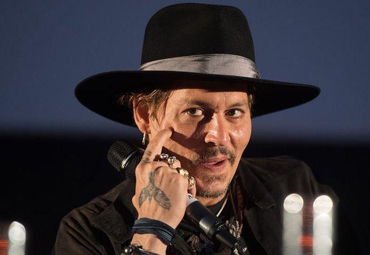 """Depp fue invitado al festival para presentar el filme de 2004 """"El libertino"""". (Foto: Contexto/Internet)"""