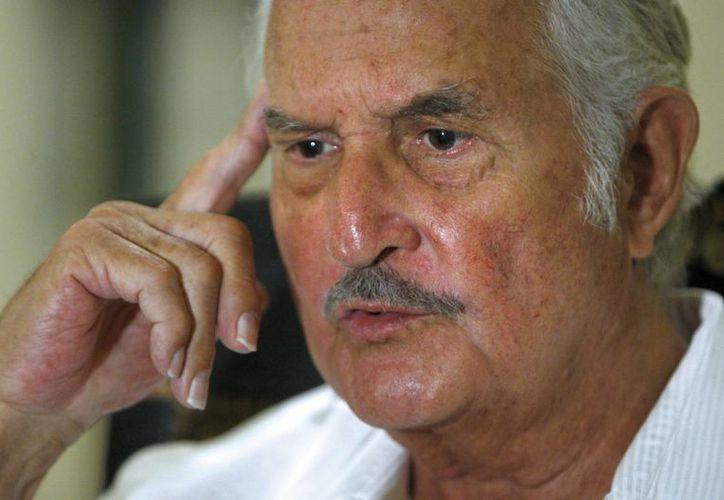 Carlos Fuentes durante una entrevista con Efe el 7 de septiembre de 2009 en Madrid. (EFE/Archivo)