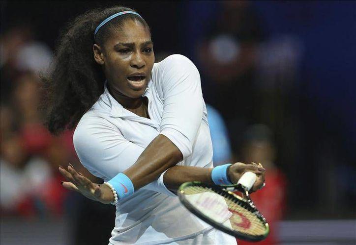 La tenista estadounidense Serena Williams fue elegida como la mejor jugadora de 2015. Serena ganó este año tres del Grand Slam (Abierto de Australia, Roland Garros y Wimbledon) y finalizó en el primer lugar de la clasifiación de la WTA.- (EFE)