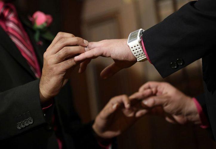 Las parejas homosexuales en Maryland podían obtener licencias matrimoniales desde el 6 de diciembre. (Agencias)