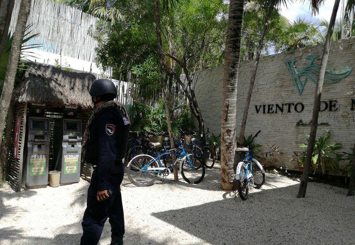Con la Policía Estatal buscan una mayor vigilancia en el destino turístico. (Foto: Sara Cauich)