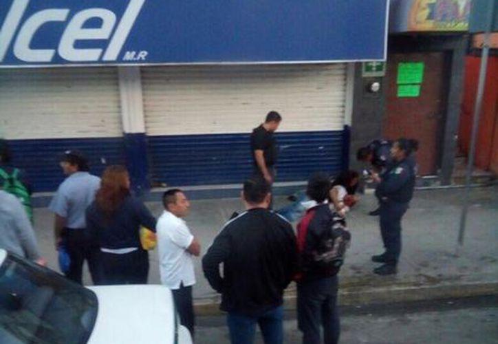 Se registró otro hecho violento en la zona de bares del Crucero. (Eric Galindo/SIPSE)