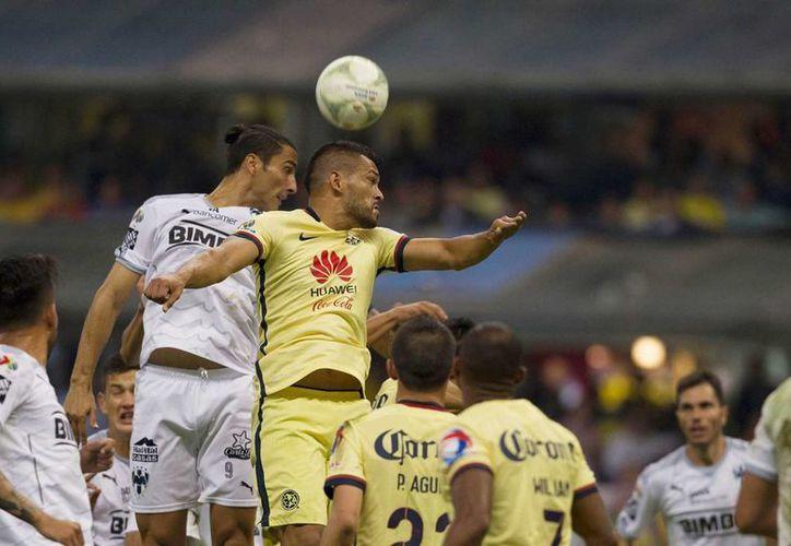 La ventaja, aunque mínima, es a favor del Águila, 1-0. (Mexsport)