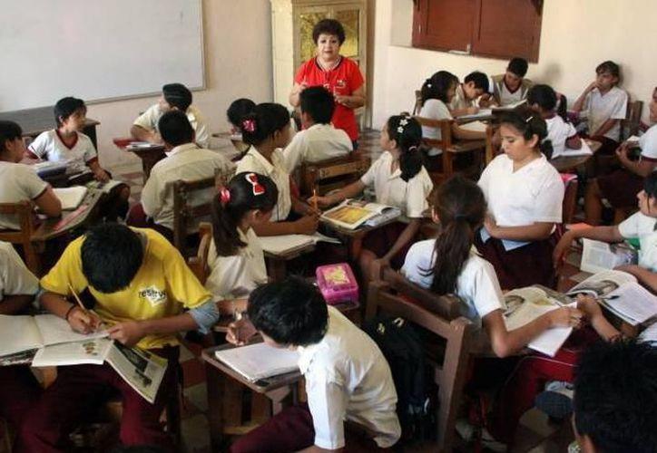 Reconocen que para que las aulas tengan 30 alumnos será necesario más escuelas y profesores. (Archivo/Milenio Novedades)