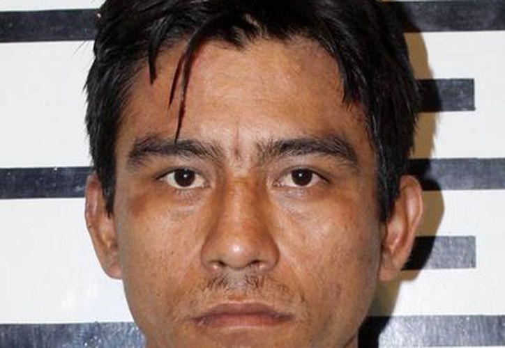 Manuel Velázquez Cárdenas fue reconocido por uno de los menores a los que asaltó y amenazó mientras cantaban la rama en San Luis Dzununcán. (Cortesía)