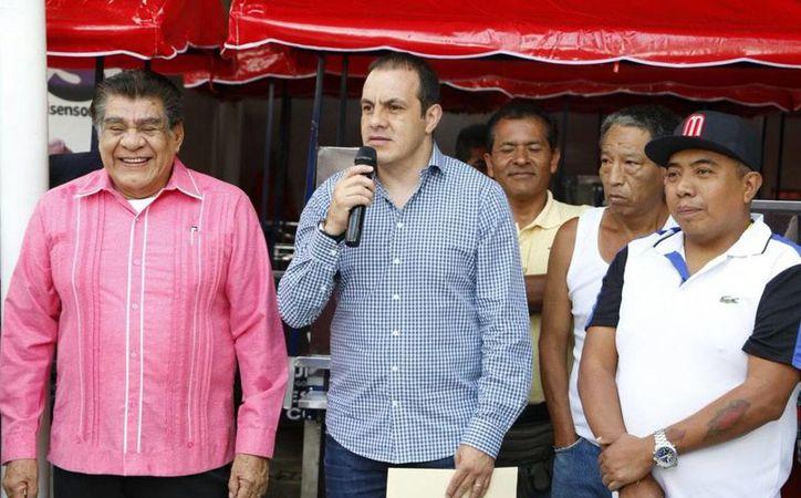 INE pide peritaje del contrato de Cuauhtémoc Blanco. (@CuauhtemocBco)