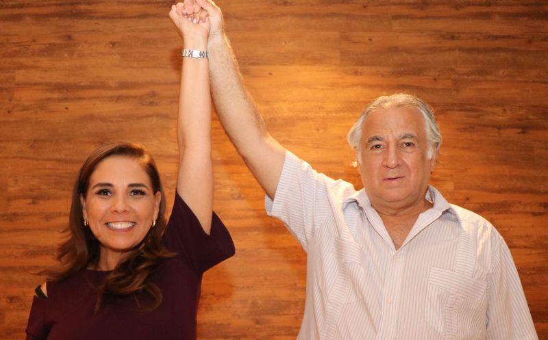 Da espaldarazo el coordinador de Turismo de Morena a la candidata de Morena y PT a la presidencia municipal. (Redacción)