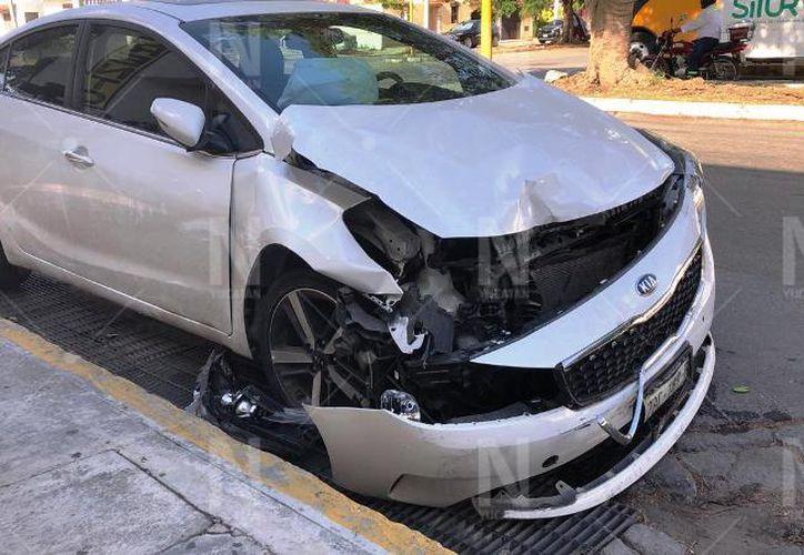 Los daños fueron de consideración. (Novedades Yucatán)