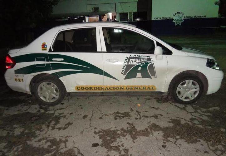 La unidad del gremio sindical que utilizan como patrulla. (Redacción/SIPSE)