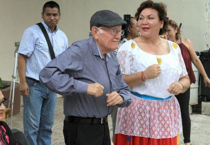 """Los capitalinos bailarán """"La Turraya"""", composición de Roque Cervera. (Joel Zamora/SIPSE)"""