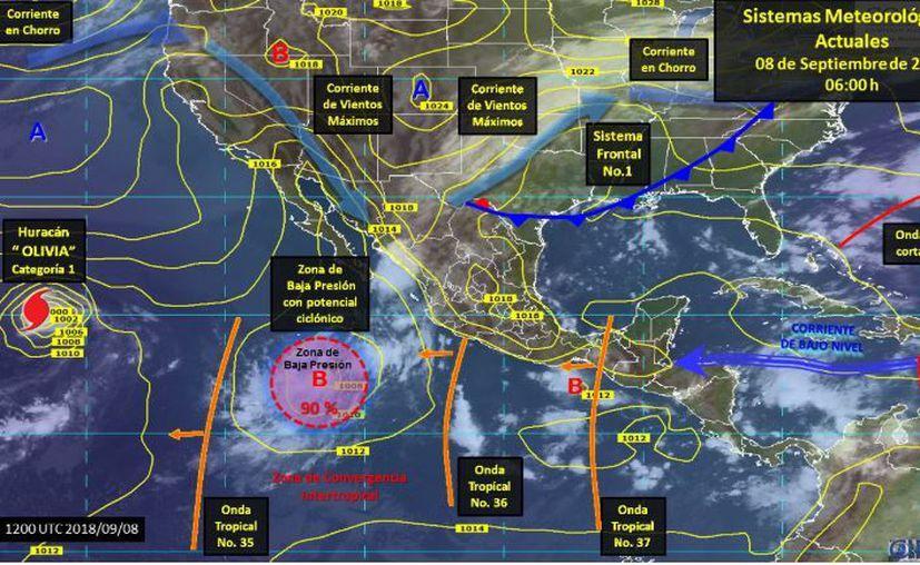 Los vientos oscilarán en los 15 kilómetros por hora. (SMN)