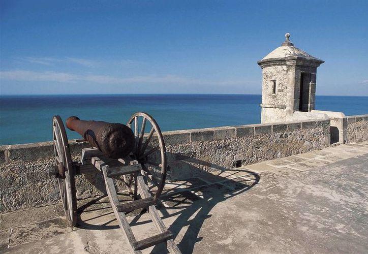 La obra representa el fundamento histórico-cartográfico de Campeche. (Archivo/Notimex)