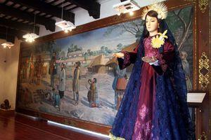 Piezas de la primera galería de arte sacro en Yucatán