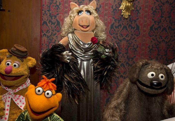 Miss Piggy estará en exhibición hasta marzo de 2014, informó el Smithsonian. (Agencias)