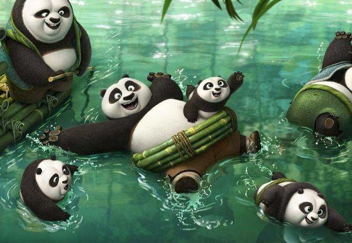 Kung Fu Panda 3, la cual cuenta con la voz de Jack Black en el papel de 'Po', llegará a los cines de México hasta marzo de este 2016. (Imagen tomada de blogdecine.com)
