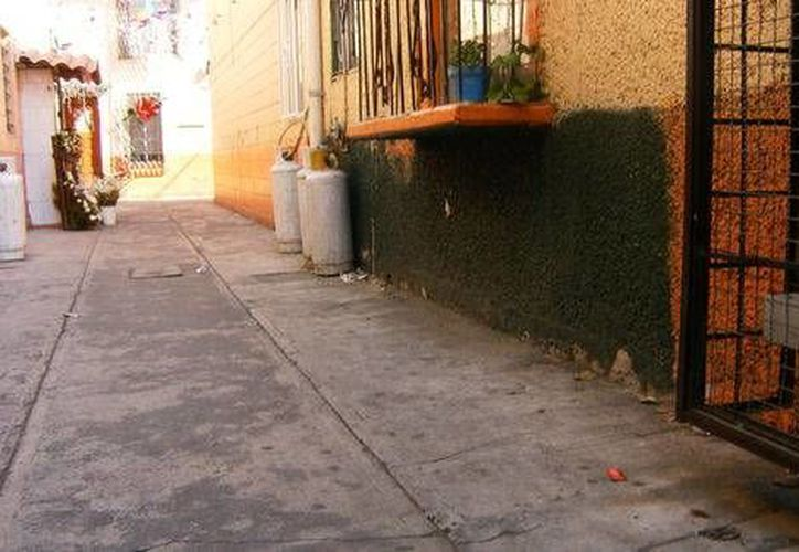 Esta era la unidad habitacional en la colonia Cuauhtémoc donde vivía Miguel Ángel Ramírez Anaya, muerto tras enfrentarse con la joven Yakiri Rubí, hoy presa. (Milenio Novedades)