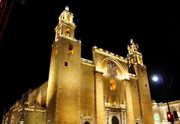 La Catedral de Mérida destaca por su majestuosidad y recomiendan darle más mantenimiento para su conservación. (Milenio Novedad)