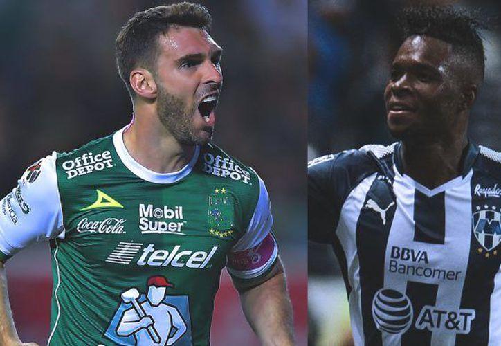 Mauro Boselli y Avilés Hurtado, Campeones de goleo en el Apertura 2017. (Mex sport)