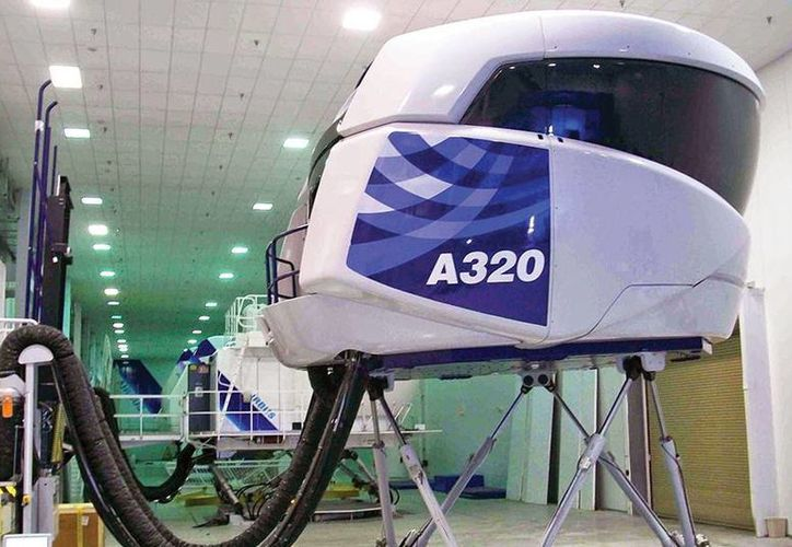 El Centro de Instrucción Internacional de ASA recibió un simulador de vuelo tipo A320, como al que corresponde la imagen, esto para la capacitación de cientos de pilotos mexicanos y de América Latina. (Tomada de jetnews.com)