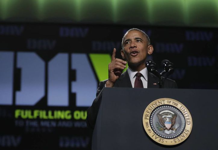Obama autorizó atacar el enclave del EI en Sirbe, en Libia, a petición del gobierno de ese país. (AP)