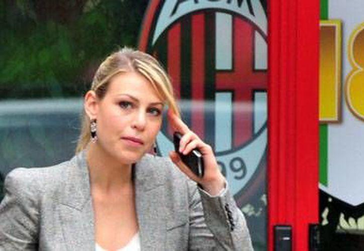 Barbara Berlusconi no administrará la parte deportiva del Milan. (Foto: Agencias)