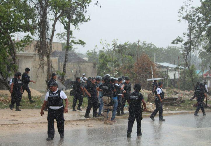 Hace unos días, en la zona irregular de In House se suscitó un intento de invasión. (Adrián Barreto/SIPSE)