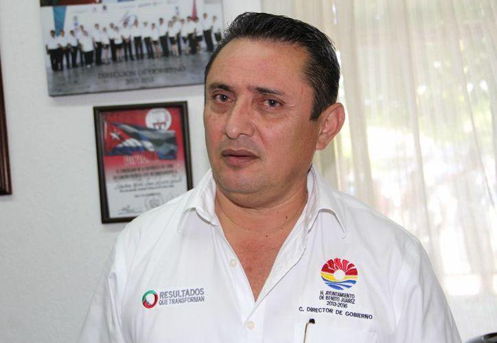 José Luís Ross Chalé, director de Gobierno. (Tomás Álvarez/SIPSE)
