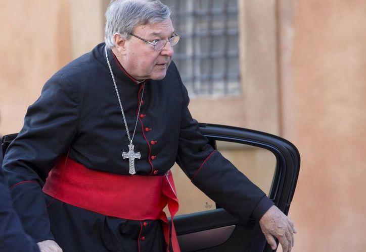 El cardenal George Pell recibió del Papa Francisco el poder para controlar las finanzas del Vaticano. (AP)