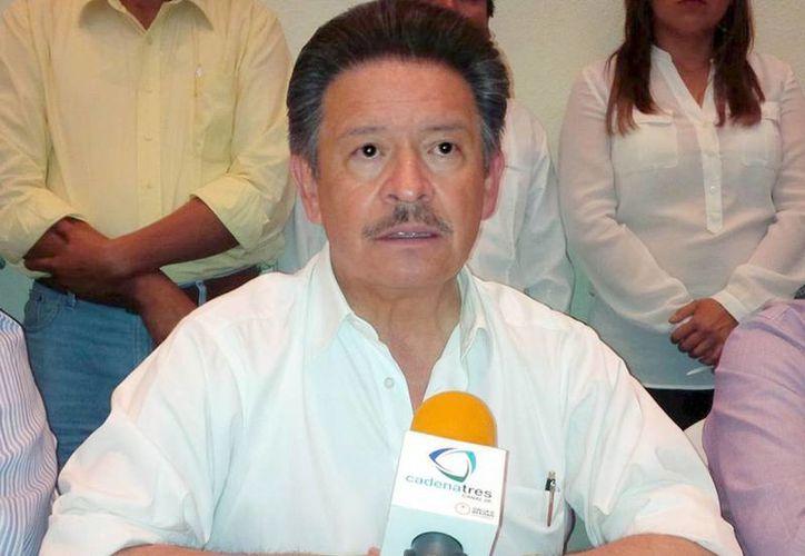 Carlos Navarrate dijo que Guerrero es un foco rojo de cara a las elecciones del 7 de junio. (Notimex)