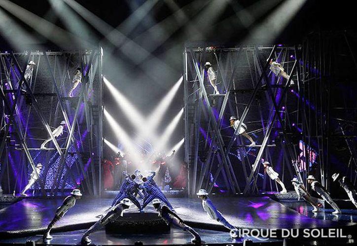 Imagen del tributo de Cirque du Soleil a Michael Jackson con One. La compañía canadiense prepara un espectáculo a Soda Stereo. (EFE/Archivo)
