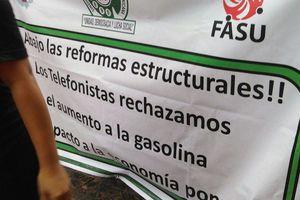 Protestas contra el gasolinazo, en Yucatán