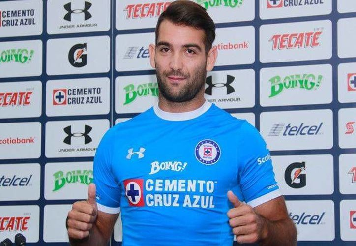 Martín Cauteruccio llega al Cruz Azul procedente de San Lorenzo, equipo en el que tuvo una destacada actuación goleadora.(Fotos Imago7.com)