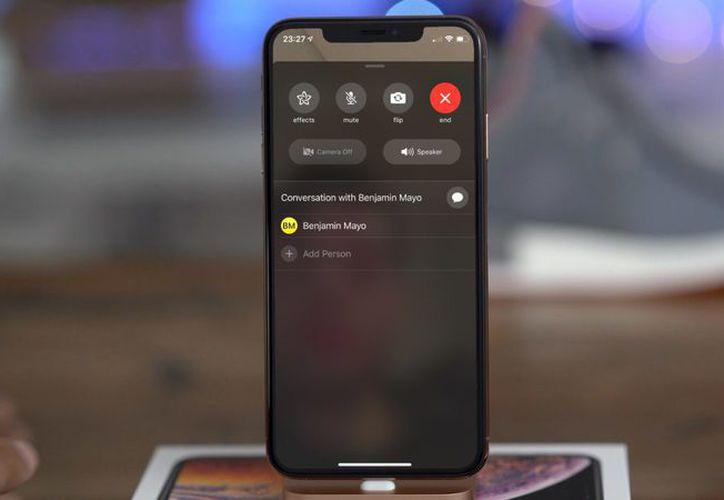 Apple reconoció el error y suspendió la función de videollamada grupal.(Contexto)