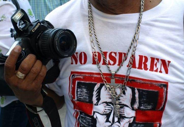 En 2015 se registró la muerte de siete periodistas en México, más que en años anteriores. (Archivo/Agencias)