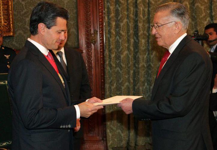 Todos los nuevos embajadores tienen amplia trayectoria en el Servicio Exterior Mexicano. (Archivo/Notimex)