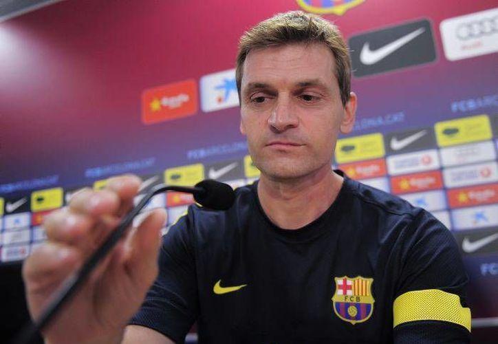 'Tito' estará de regreso para dirigir ante el Espanyol. (Foto: Agencias)