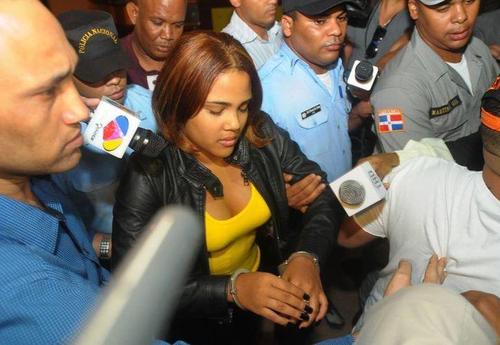 Martha Heredia fue detenida el pasado 20 de febrero en el Aeropuerto del Cibao, porque le encontraron droga en los zapatos.(EFE/Archivo)